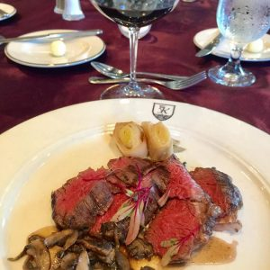 Dining at the Kalamazoo Country Club