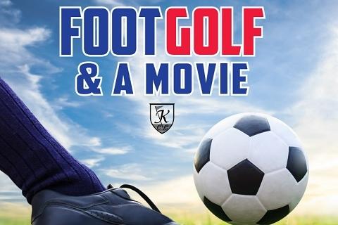 Foot Golf & a Movie