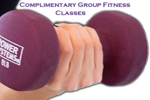 Complimentary Group Fitness Classes