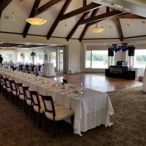 Kalamazoo Country Club Wedding Photo