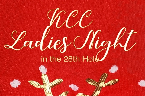 KCC Ladies Night in the 28th Hole: Ugly Christmas Sweater Party