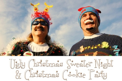 Ugly Christmas Sweater Night & Christmas Cookie Party