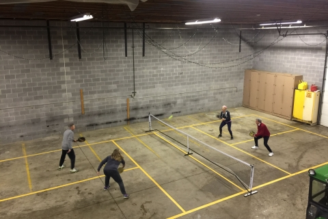 KCC Grounds Building Winter Pickleball